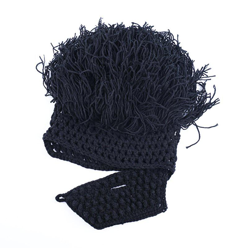Online Men Fashion Woolen Yarn Knitted Halloween Funny Hat