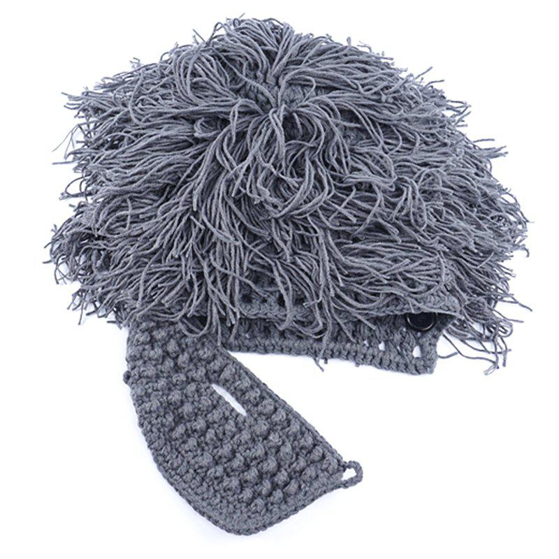 Chic Men Fashion Woolen Yarn Knitted Halloween Funny Hat