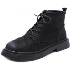 Female Martin Boots Autumn Winter British Wind Short Tube Student -