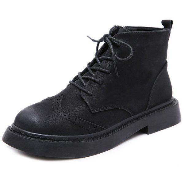 Shop Female Martin Boots Autumn Winter British Wind Short Tube Student