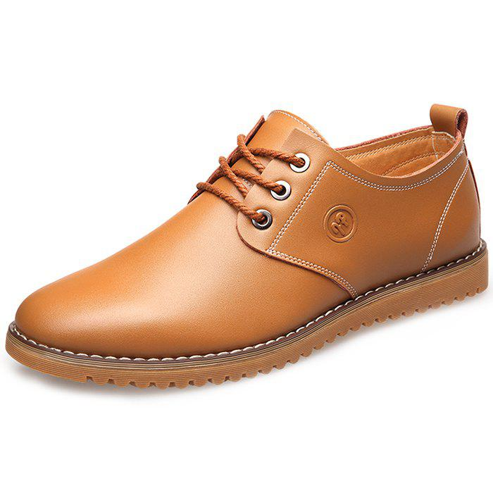 Affordable Men's Leather Casual Shoes Fashion Leisure