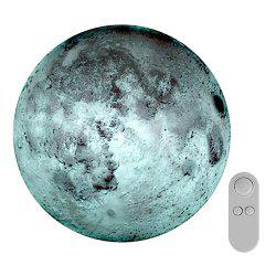 Creative Remote Control Moon-shape Romantic Wall Lamp -