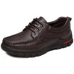 Men's Leather Casual Shoes for Old People -