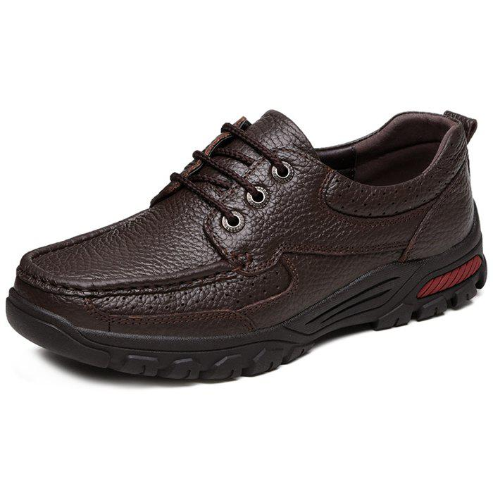 Fashion Men's Leather Casual Shoes for Old People