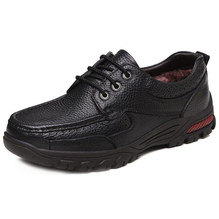 Sale Men's Leather Casual Shoes for Old People