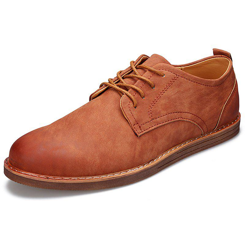 Online Fashionable Casual Leather Shoes for Men