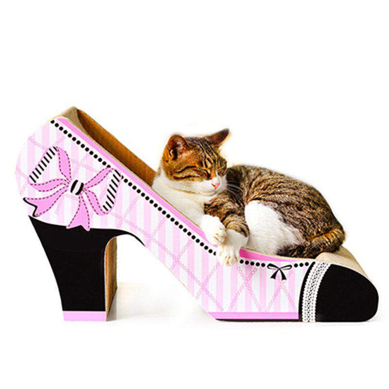 Affordable Shape of High Heel Toy for Cat