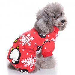 Penguin Snow Pet Clothes for Dog -