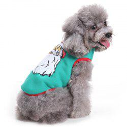Santa Cosplay Pet Dress pour chien -