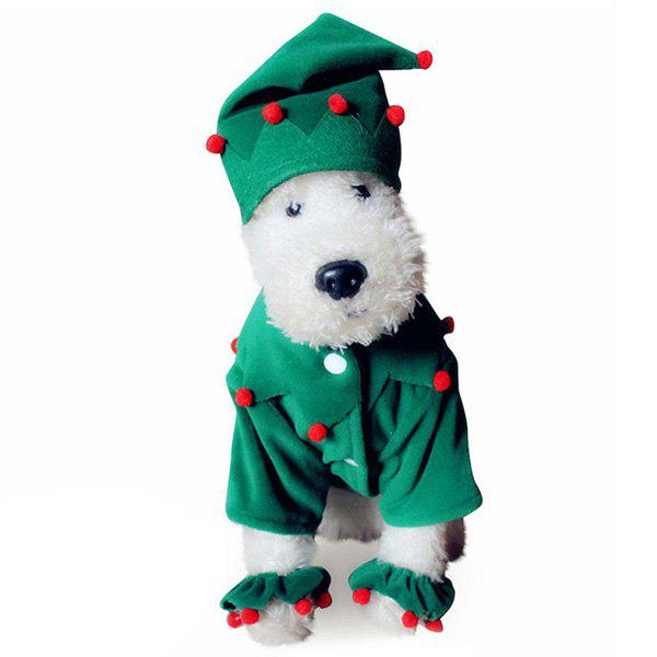 New Santa Costume Pet Clothing for Dogs