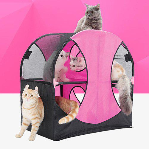 Trendy Oxford Fabric Tunnel Nest for Cat