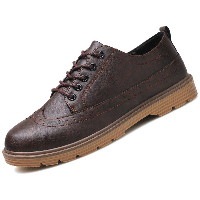 New Men Oxford Stylish Solid Color Shoes