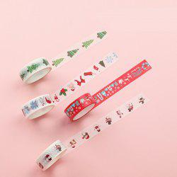 DIY Color Tape Christmas Decoration Tape H Series 10PCS -
