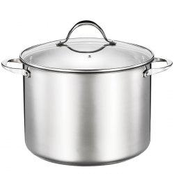 Large Capacity Durable Stainless Steel Soup Pot -