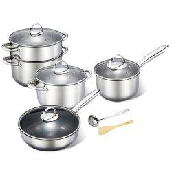 Durable Non-defrmation Stainless Steel Cookware Suit -