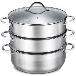Durable Double-deck Stainless Steel Steamer -