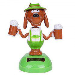 Vehicle-mounted ABS Plastic Brew Dog Toy Decoration for Ornament -