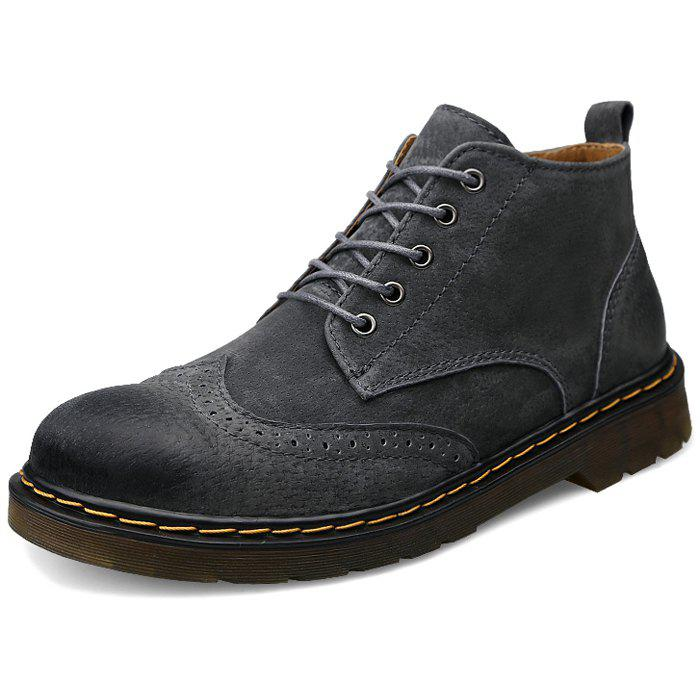 New Men's Trendy High Top Casual Shoes