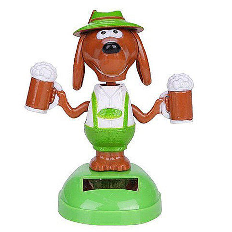 Buy Vehicle-mounted ABS Plastic Brew Dog Toy Decoration for Ornament