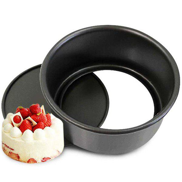 Trendy 8 inch Round Type Non-stick Cake Mold for Household Baking