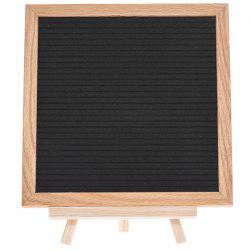 SP1498 Blanket Cloth Blackboard Can Hanging DIY Letter Message Board -