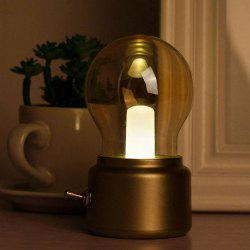 Creative Glass Desk Lamp for Office Business -