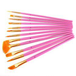 8216 Multifunctional Nylon Painting Brush 12PCS -