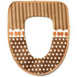 Thicken Knited Universal Toilet Seat Cover -