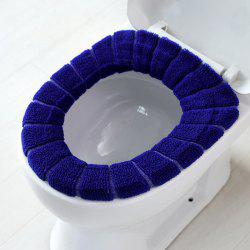 Thicken Knit Universal O Type Toilet Seat Cover -