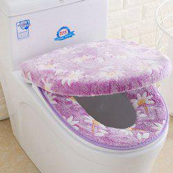 Thicken Universal O Type Twinset Toilet Seat Cover -