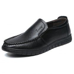 Casual Leather Shoes Men Leisure -
