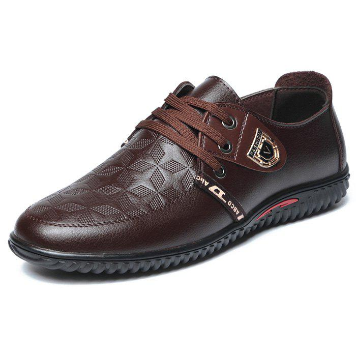 Hot NX-8856 leather casual shoes