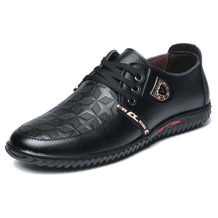 Shops NX-8856 leather casual shoes