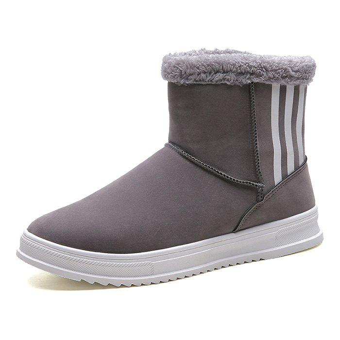 Latest Winter Snow Boots Men Brushed Shoes