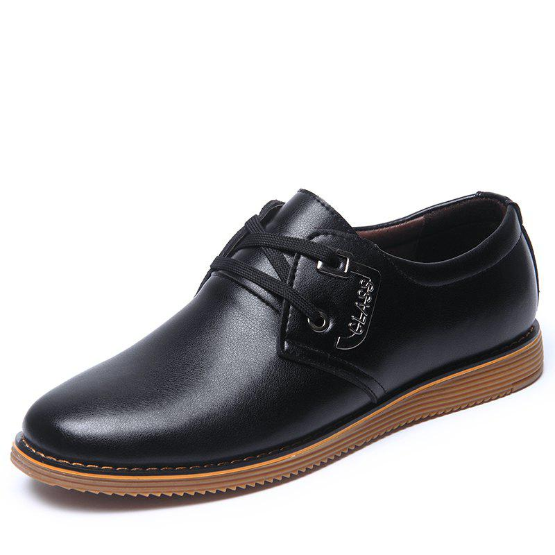 Fashion Man Casual Leather Shoes English Style
