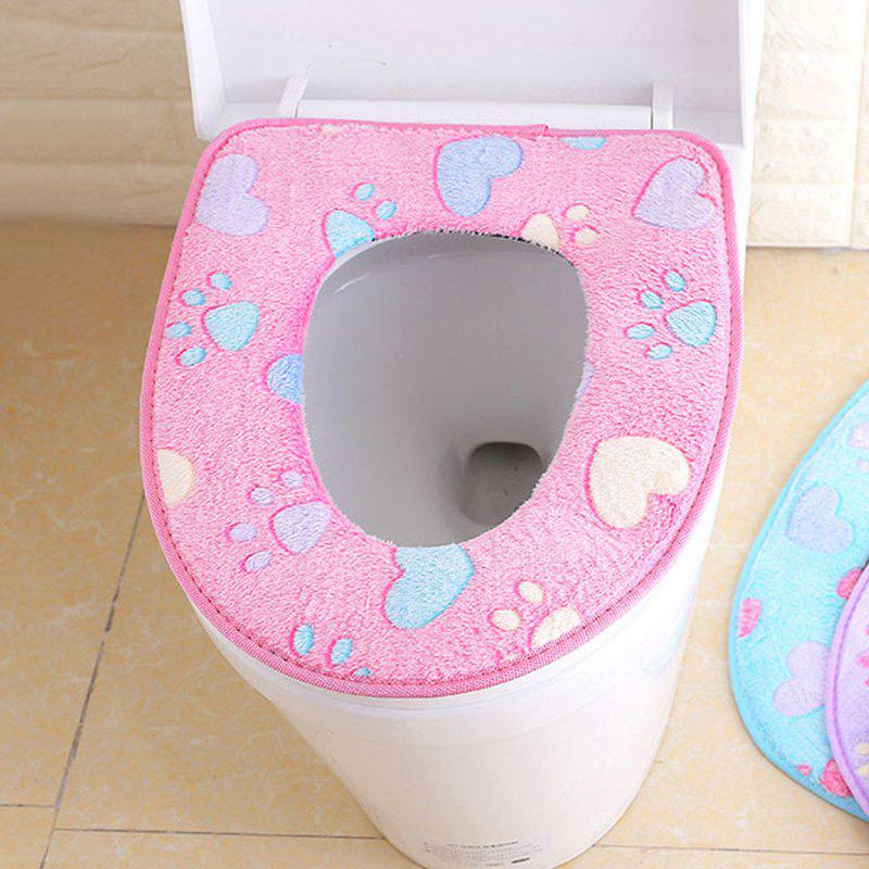 Shop Thicken Knit Universal Toilet Seat Cover