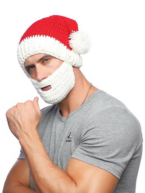 3b941c92e73 2019 Christmas Knitted Wool Hat With Beard