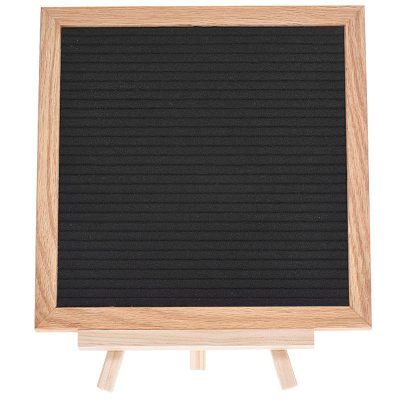 Cheap SP1498 Blanket Cloth Blackboard Can Hanging DIY Letter Message Board