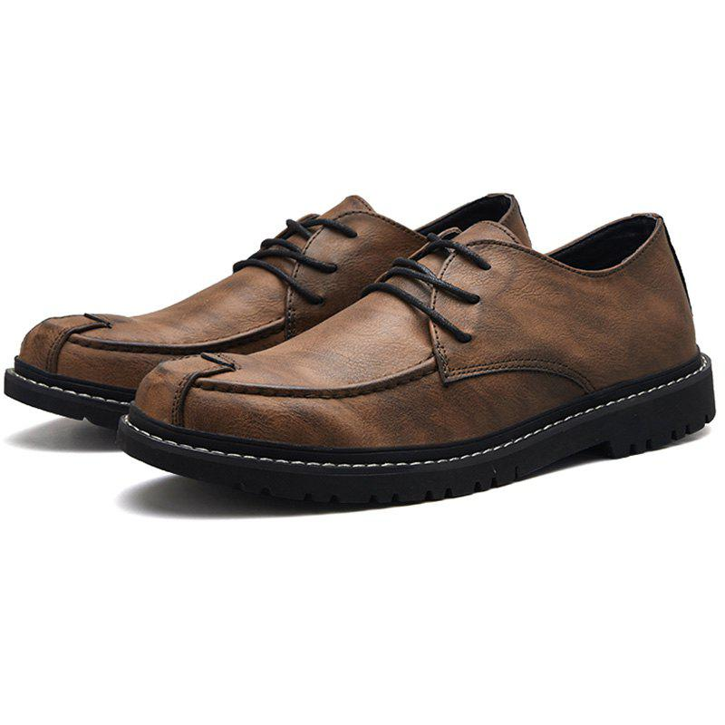 Outfit Men's Flat Shoes Casual Comfortable
