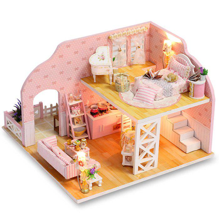 Store K - 025 DIY Cottage Handmade Prague Dreams Mini Princess Doll House Model Assembling Toy