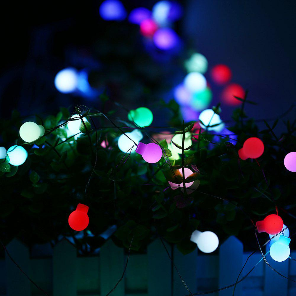 Affordable KPSSDD 10m 50 LED Colorful USB Interface High Brightness Slow Flash Ball String Light for Decoration