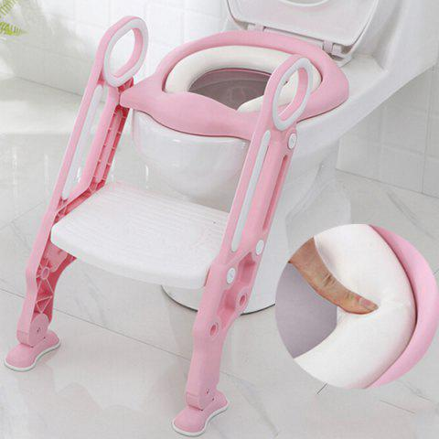 12311 Hard Child Seat Cushion Infant Baby Ladder Folding Toilet