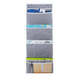 Wall Mounted Multi Function Office Documents Hanging Storage Bag -