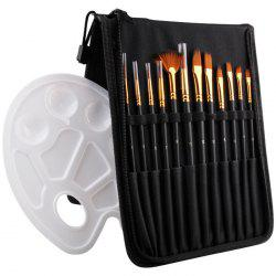 Brush Bag Color Palette Painting Set -