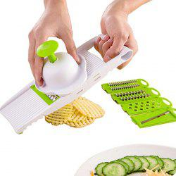 Practical Multifunctional Vegetable Cutter 5pcs -