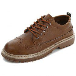 Men's Leather Casual Shoes Oxford -