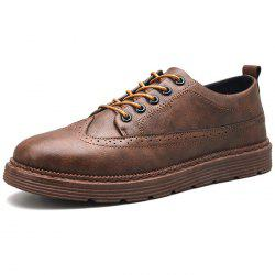 Men's Leather Casual Shoes Brock Casual Style -