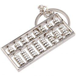 Alloy Abacus Keychain for Decoration -