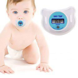 Baby LCD Digital Mouth Nipple Thermometer Health Monitor -