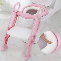 12311 Hard Child Seat Cushion Infant Baby Ladder Folding Toilet -